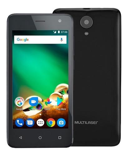 smartphone multilaser ms45 4g 1gb preto - nb720