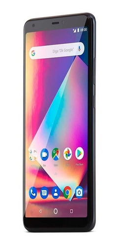 smartphone multilaser ms60z 2gb tela 6 pol 16gb preto nb741