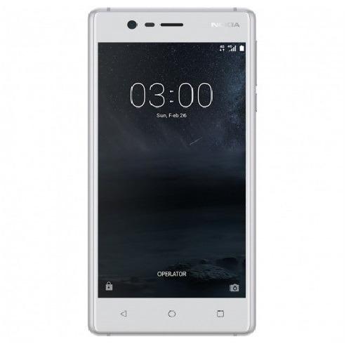smartphone nokia 3 16gb 4g dual sim 5.0'' ips câm 8mp + 8mp