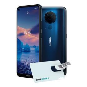 Smartphone Nokia 5.4 Azul 128gb 4gb Ram 6,39pol 48.0mp (uw)