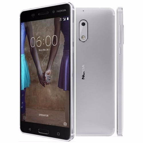 smartphone nokia 6 32gb dual 5.5'' fhd 4g android 7 câm 16mp