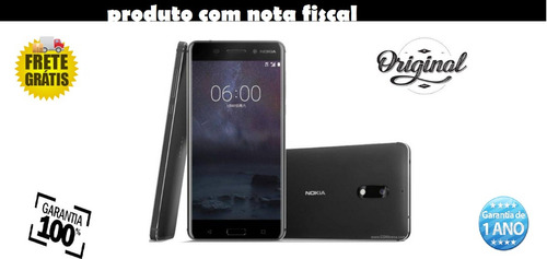 smartphone nokia 6 3gb/32gb lte dual sim tela 5.5  cam.16mp