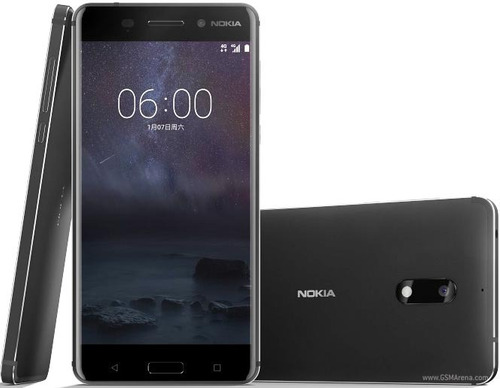 smartphone nokia 6 dual chip tela 5.5 32gb 16mp - preto