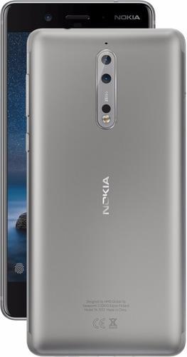 smartphone nokia 8 64gb 5.3'' qhd ips 4gb ram câm 13mp 4g