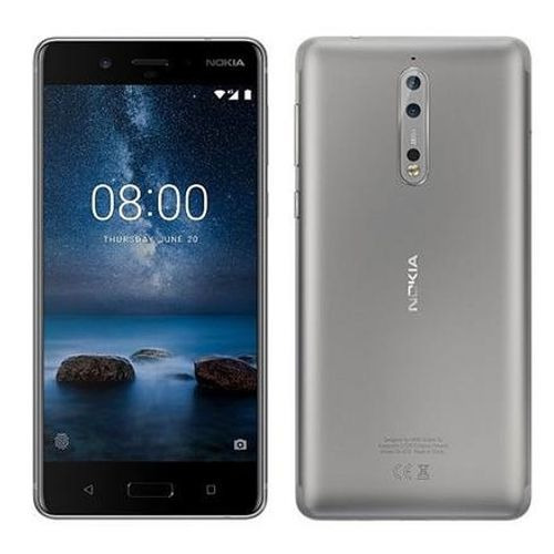 smartphone nokia 8 64gb 5.3'' qhd ips 4gb ram câm 13mp 4g
