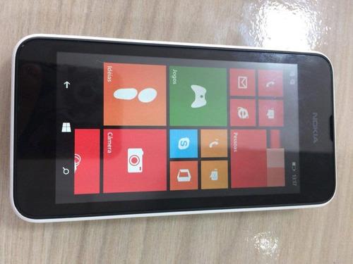 smartphone nokia lumia 530 desbloqueado windows de vitrine