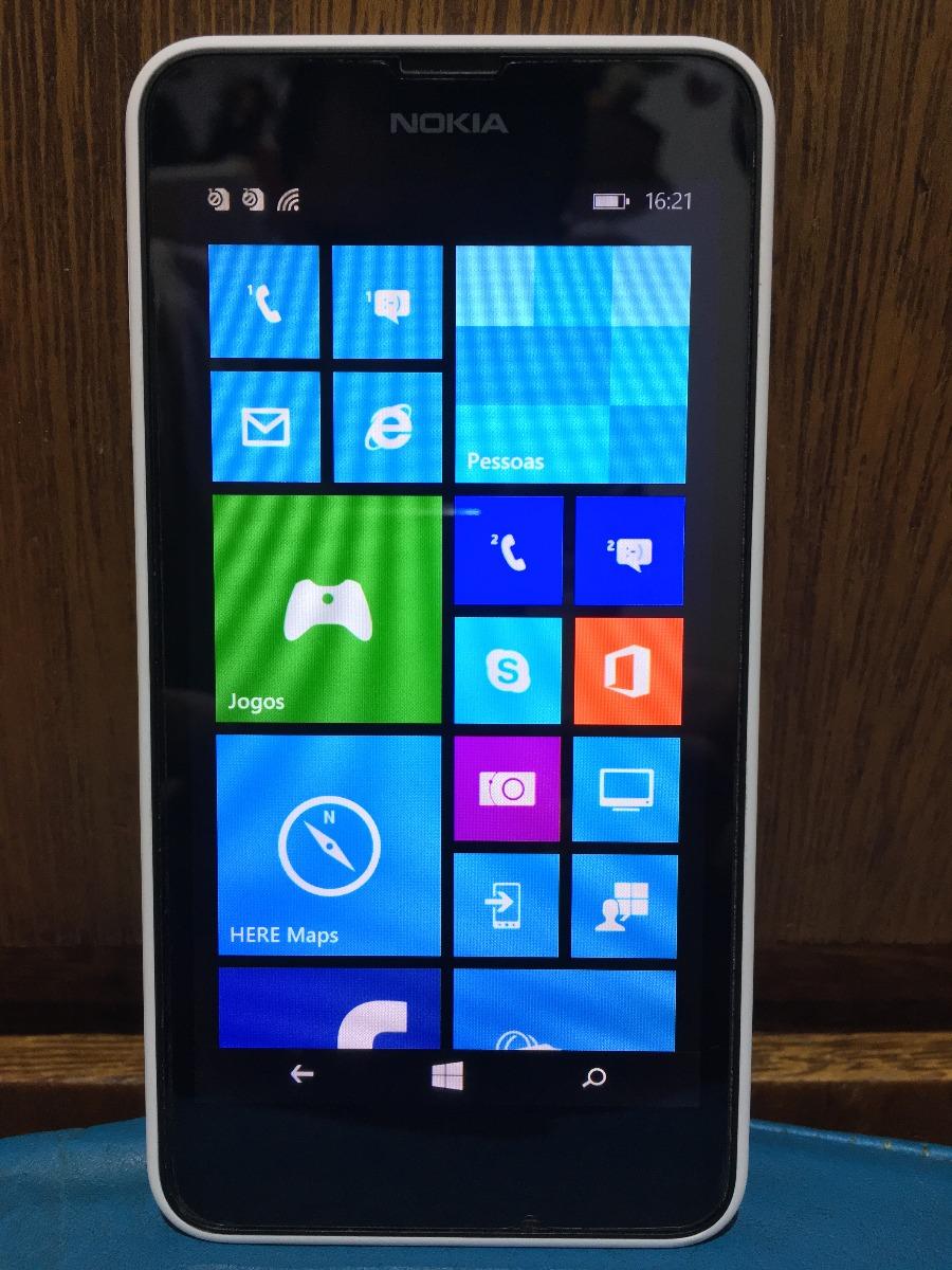 ff3de7fd19f smartphone nokia lumia 630-8gb, celular dual chip -semi-novo. Carregando  zoom.