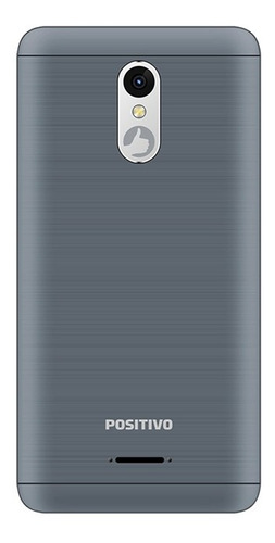 smartphone positivo twist 2 fit s509 quad-core dual chip android oreo 5'' - cinza