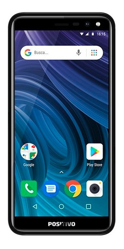 smartphone positivo twist 2 s512 quad-core dual chip android oreo 5,34 - aurora