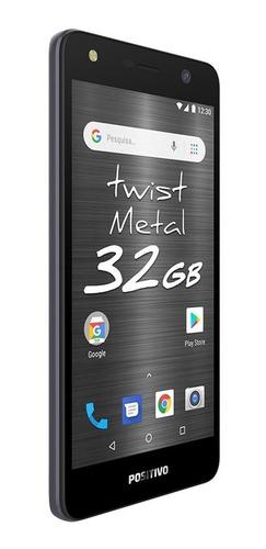 smartphone positivo twist s531 - cinza