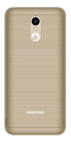 smartphone positivo twist2 s512 3g 16gb android 8.1 dourado