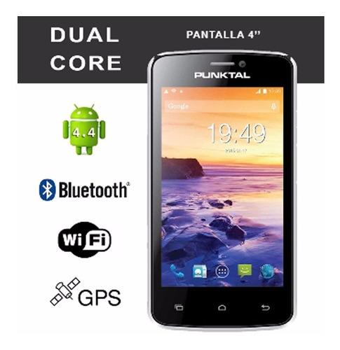 smartphone punktal 4  dual sim android 4.4 pk-st8000