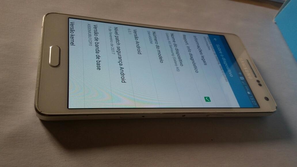 Smartphone Samsung Galasxy A5 Branco Original Android 6.0