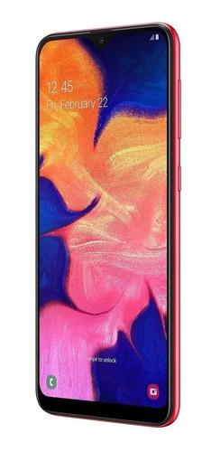 smartphone samsung galaxy a10 color rojo