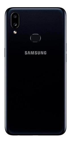 smartphone samsung galaxy a10s 32gb preto 2 gb + película