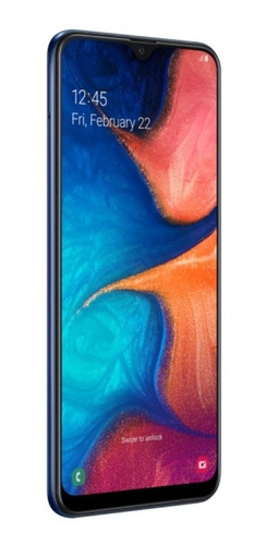 smartphone samsung galaxy a20 32gb 6.4  3gb camera 13mp 5mp