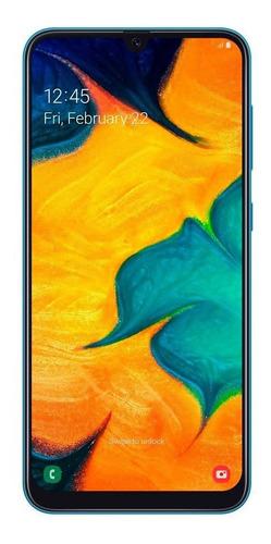 smartphone samsung galaxy a30, azul, 6,4 , 64gb, 16mp+5mp