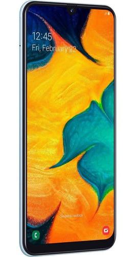 smartphone samsung galaxy a30, branco, 6,4 , 64gb, 16mp+5mp