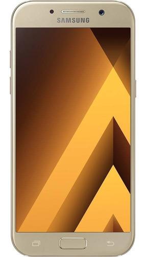 smartphone samsung galaxy a5 2017 16mp - dourado (vitrine)