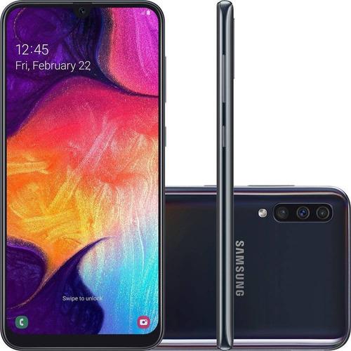 smartphone samsung galaxy a50 64gb dual chip android 9.0 tel