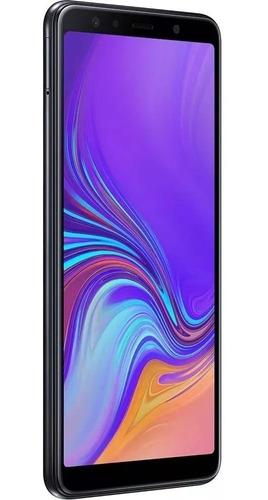 smartphone samsung galaxy a7 128gb 2018 ! lacrado ! + brinde