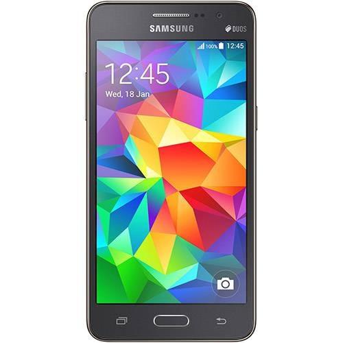 smartphone samsung galaxy gran prime 8gb 8mp cinza (vitrine)