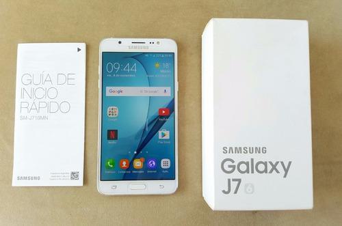 smartphone samsung galaxy j7 2016 libre 16gb 4g gtia local