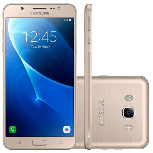 smartphone samsung galaxy j7 metal dourado 16gb dual chip 4