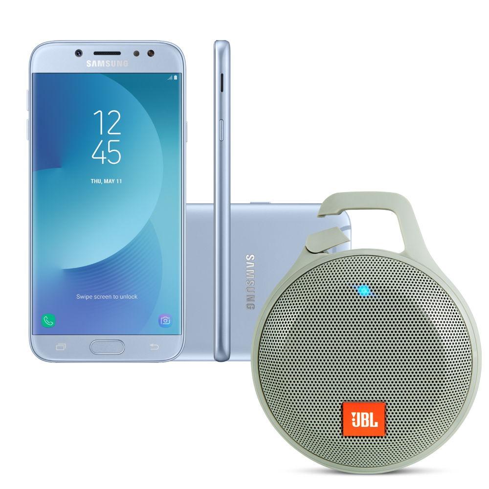 b574d61129 smartphone samsung galaxy j7 pro 64gb - azul + caixa de som. Carregando  zoom.