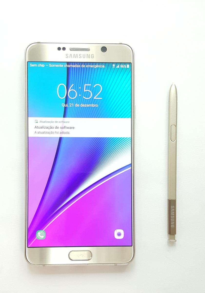 Smartphone Samsung Galaxy Note 5 N920g 32gb Brinde R 179990 Carregando Zoom