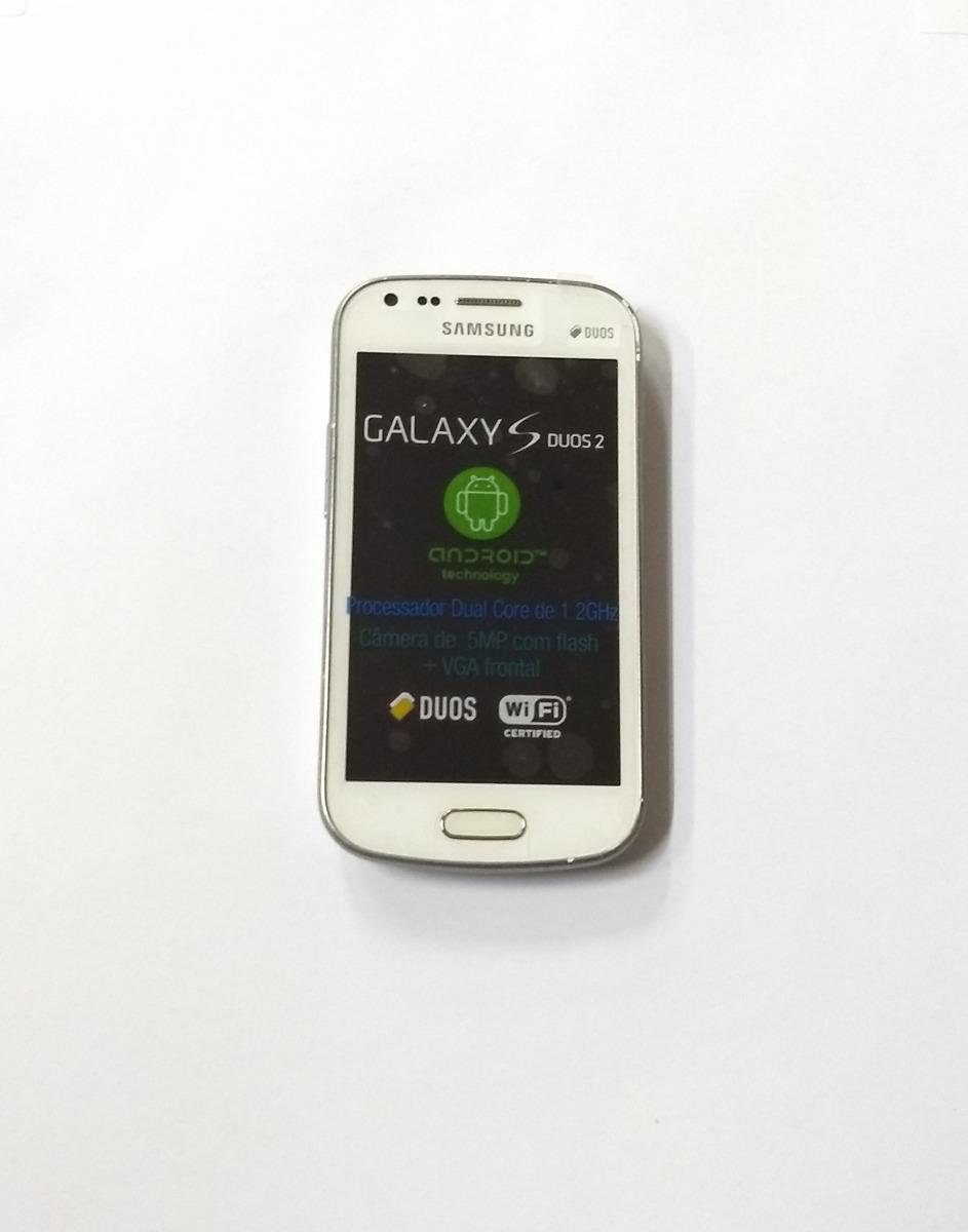 d68de6efb smartphone samsung galaxy s duos 2 4gb 5mp - branco vitrine. Carregando zoom .