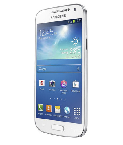 smartphone samsung galaxy s4 mini duos 8gb azul com garantia