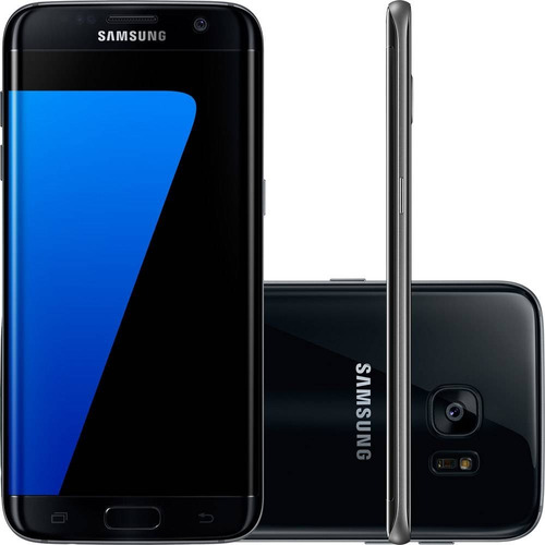 smartphone samsung galaxy s7 edge android 6.0 tela 5.5 32gb