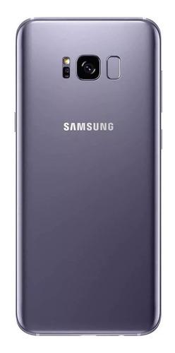 smartphone samsung galaxy s8 64gb preto dual chip - 4g câm.