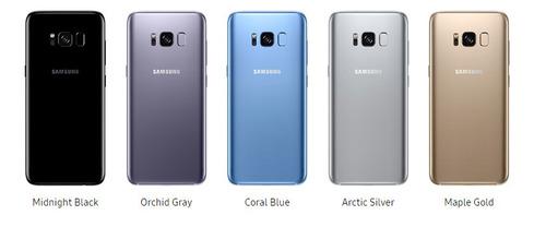 smartphone samsung galaxy s8+ dual  sim  5,8  android 7.0