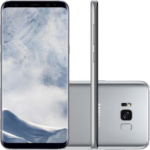 smartphone samsung galaxy s8 plus 6,2 câm 12 nacional +nf