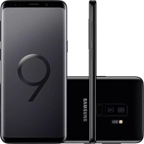 smartphone samsung galaxy s9 plus 128gb 6gb 2.8ghz - preto