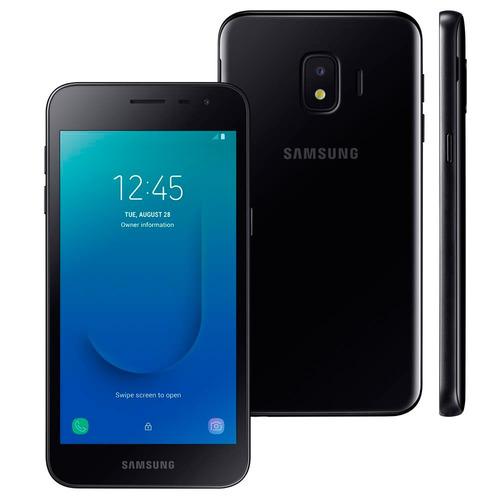 smartphone sansung j2 core, preto, tela de 5 , 16gb, 8mp