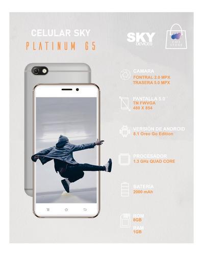 smartphone sky platinum g5