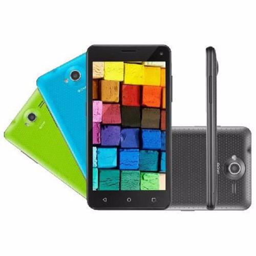 smartphone tablet mini ms50 preto/azul/verde 16gb nb255