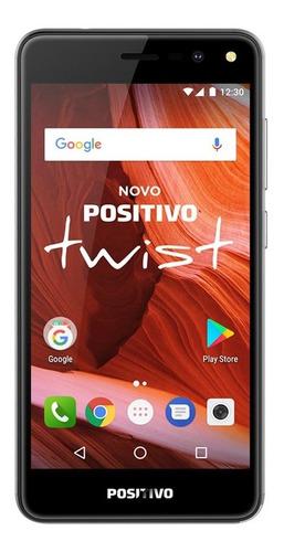 smartphone twist s511 16gb - cinza