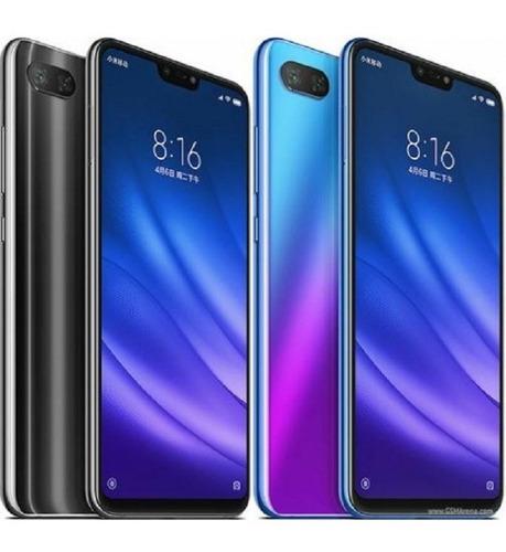 smartphone xiaomi mi 8 lite 64gb capa pelicula fone bt + nfe