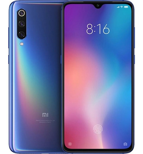 smartphone xiaomi mi 9 dual sim 128gb de 6.39  48+12+16mp/20