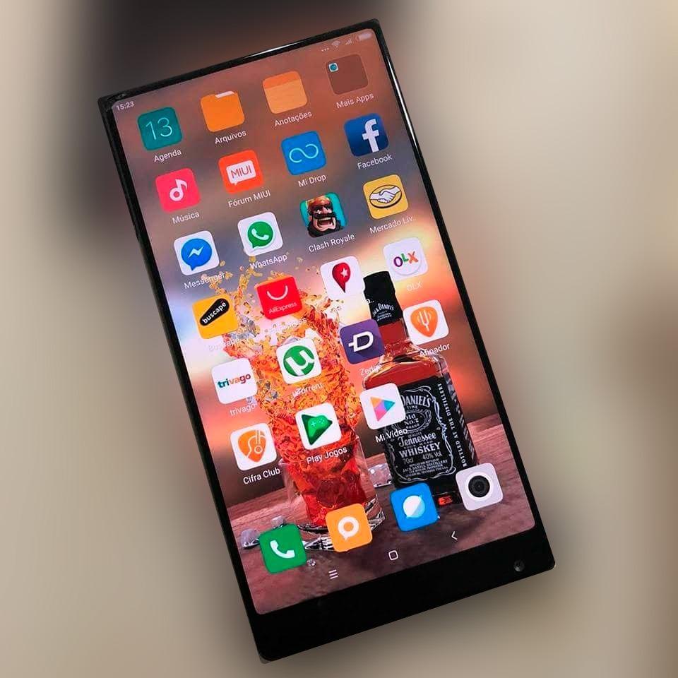 41d27c29b smartphone xiaomi mi mix 128gb 4gb   ótimo estado   barato. Carregando zoom.