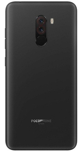 smartphone xiaomi pocophone f1 6+128gb tela 6.18 preto + nfe