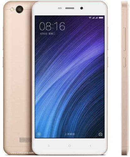 smartphone xiaomi redmi 4a dual chip 32gb 4g 13mp - dourado