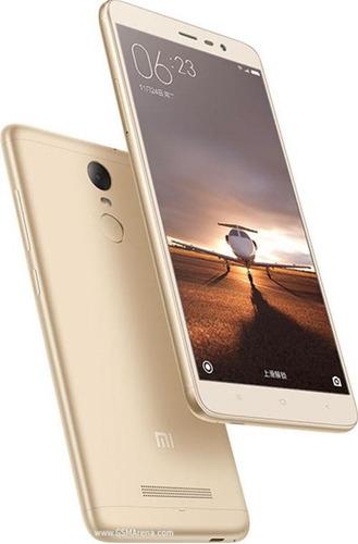 smartphone xiaomi redmi note 3 dual chip 32gb 16mp dourado