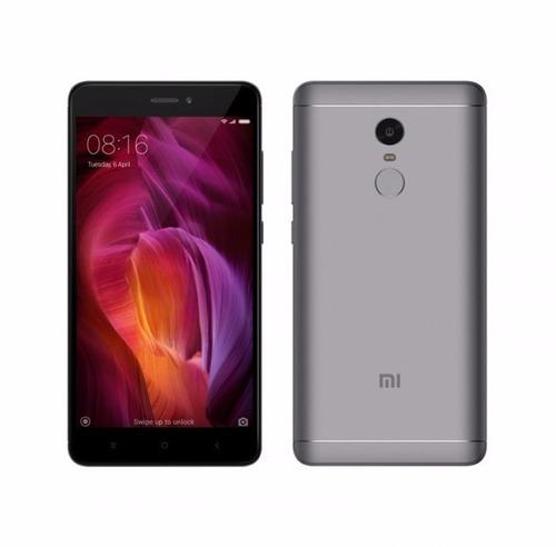 smartphone xiaomi redmi note 4 grey 4g lte dual sim