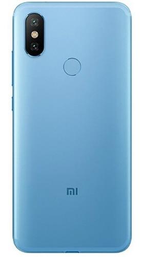 smartphone xiaomi redmi note 6 pro 4+64gb 4g dual azul + nfe