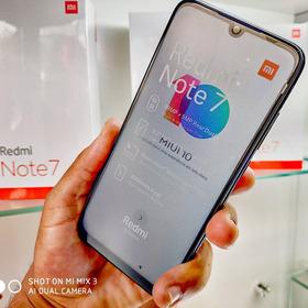 Smartphone Xiaomi Redmi Note 7 64gb-preto/azul Consulte Cor